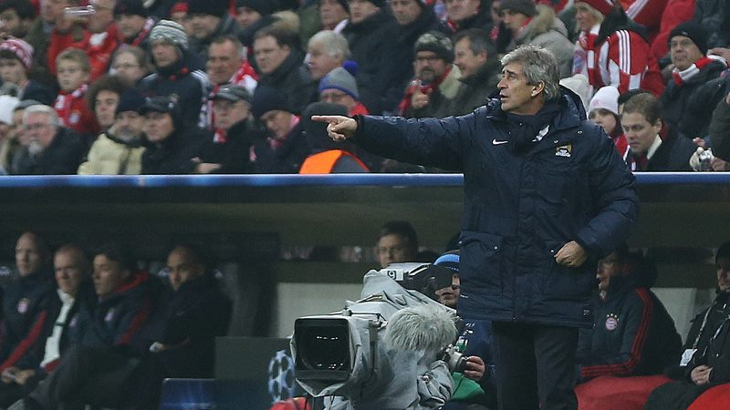 Miscalculation - Did Manuel get his sums wrong in Munich? Courtesy @MCFC