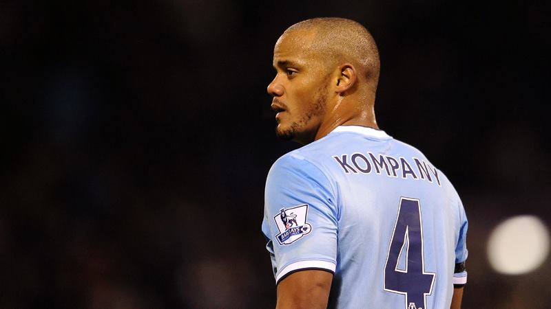 Welcome back Captain - Kompany commanded his backline Courtesy @MCFC