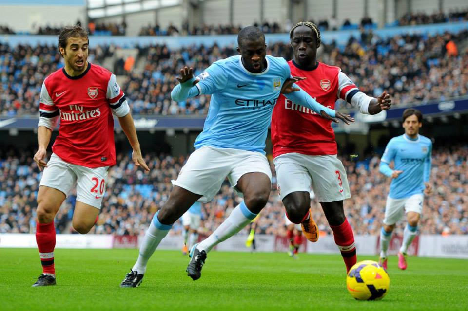 Lead man - Yaya has hit 21 goals from midfield this season. Courtesy @MCFC