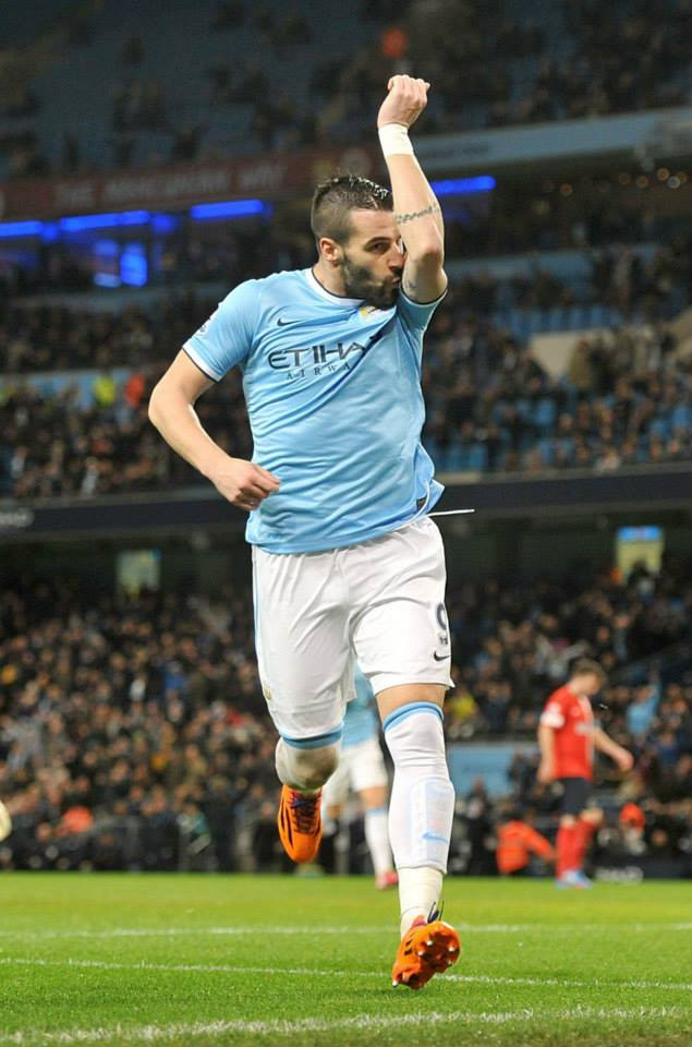 Beastie Boy - Negredo hits goals 20 & 21 Courtesy @MCFC
