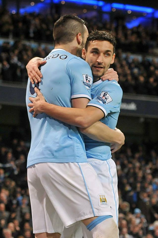 Blues with Spanish eyes -will Negredo & Navas be smiling in May...and do they like jelly & ice cream?  Courtesy @MCFC