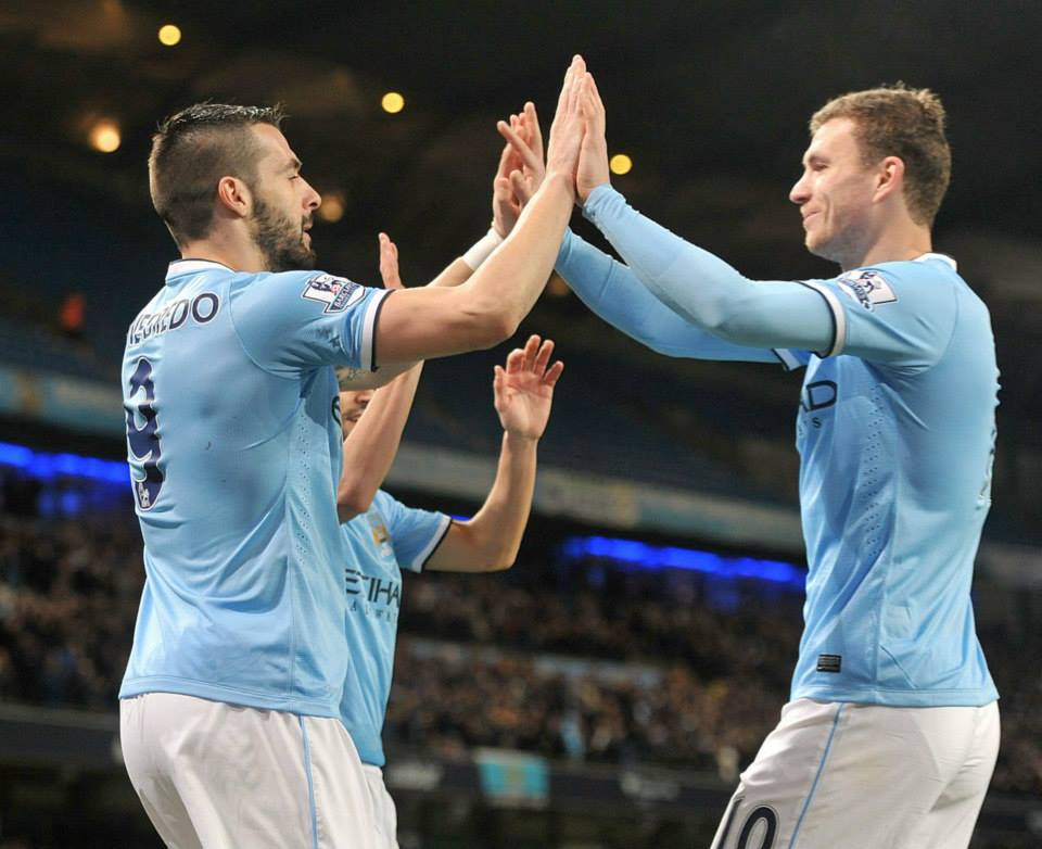 Double trouble - Negredo and Dzeko can fire City to victory