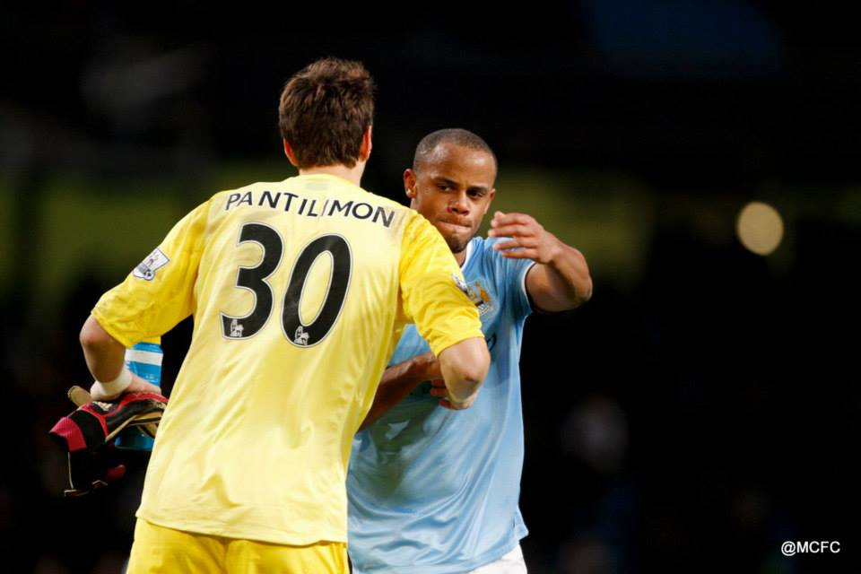 Captain on board - Kompany steadied the ship as Pantilimon was untroubled in the 2nd half  Courtesy @MCFC