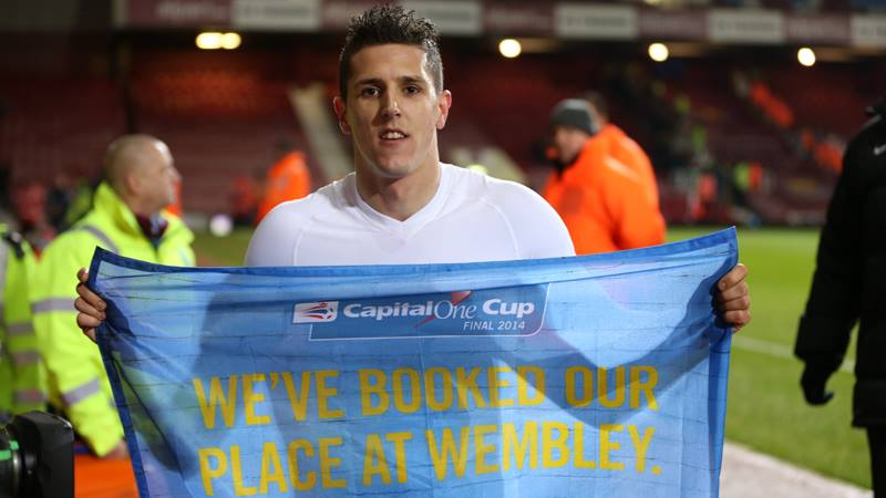 Back and on the road to Wembley - Stevan Jovetic is ready to play his part  Courtesy @MCFC