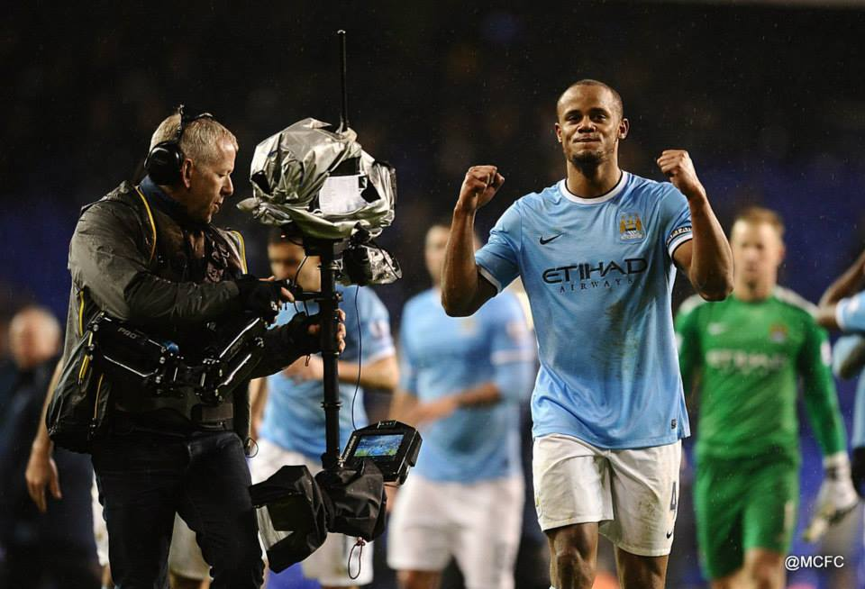 Field Marshall - Captain Kompany was absent when City fell to an undeserved defeat at Chelsea in October