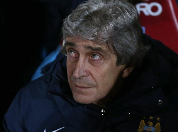 Heavens above - Does Manuel need help from the Gods to get City back to the top of English football?Courtesy @MCFC
