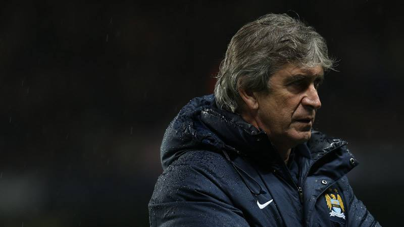 At the forefront - Manuel Pellegrini won't be drawn on the Quadruple...but he wouldn't say 'no' in a hurry!