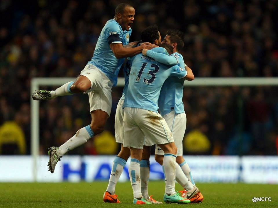 Job done - City are through with a 4-2 win  Courtesy @MCFC
