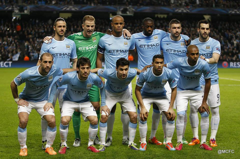 Calm before not so 'swede' pickings - City line-up  Courtesy @MCFC