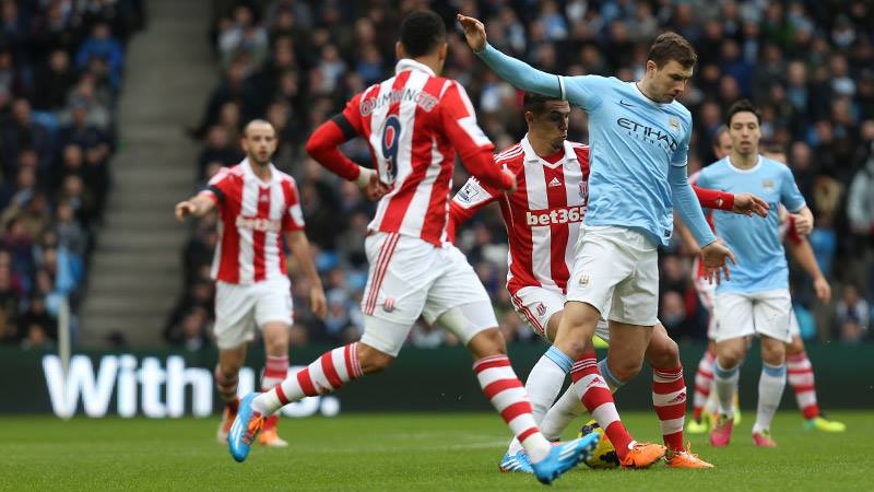 Edin the enigma - Dzeko does score important goals for City but misses far too many chances  Courtesy @MCFC