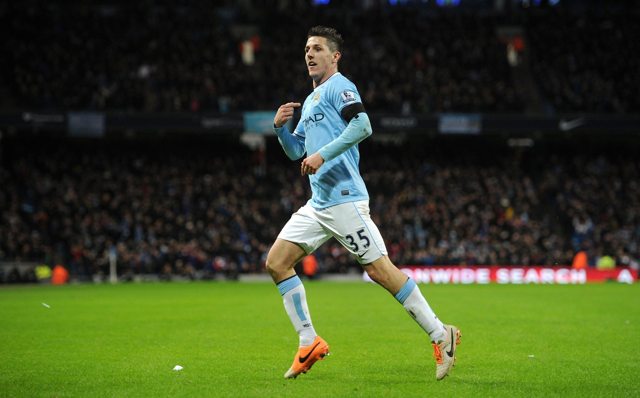 Better late than never - Jovetic can join City's Premier League push and score vital goals. Courtesy @MCFC