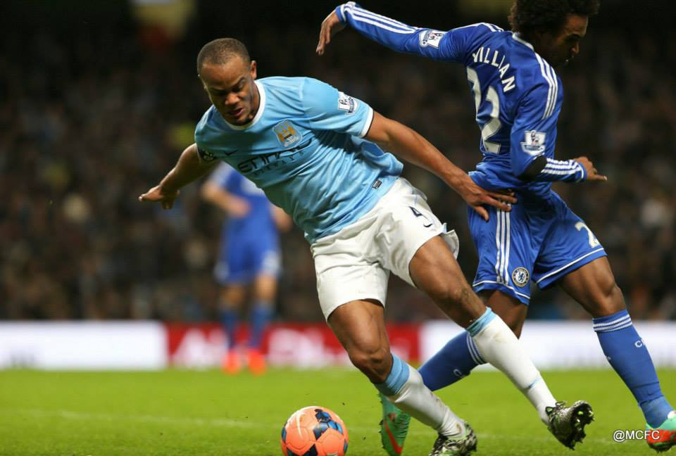 Revenge mission - Kompany wanted payback for the 1-0 PL defeat at the Etihad  Courtesy @MCFC
