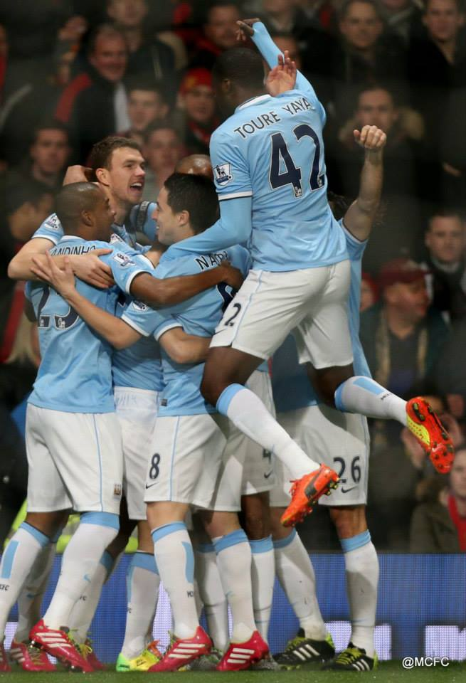 After Eight - City will be in mint condition if they can keep up the winning form shown at Old Trafford. Courtesy @MCFC