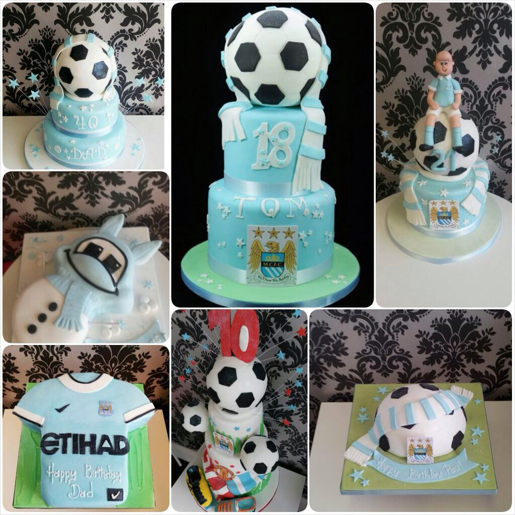 Slice of Sky Blue Heaven - contact The Cake Box in Knutsford if you want to mark City's latest sweet taste of glory
