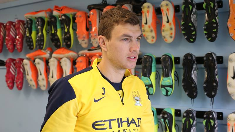Order of the boot - Dzeko can kick on in Aguero's absence and get the goals to make City champions. Courtesy @MCFC
