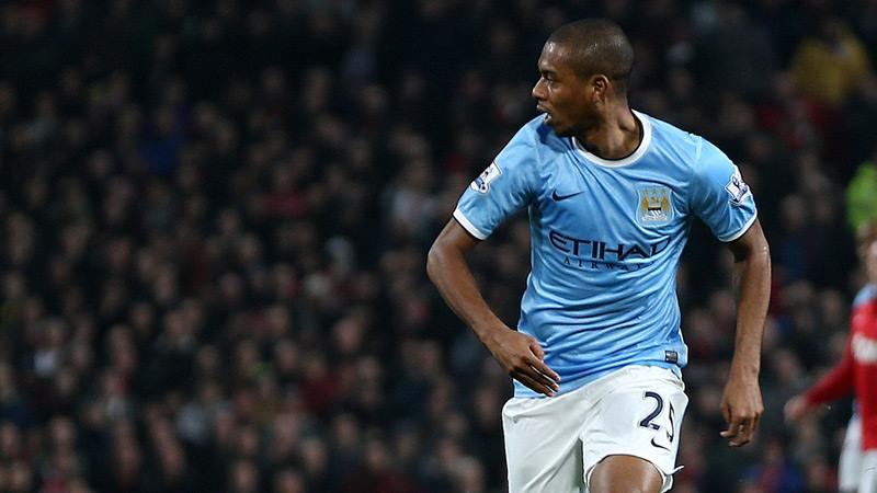 Man of the Match - Fernandinho was the foundation stone for City's win. Courtesy @MCFC