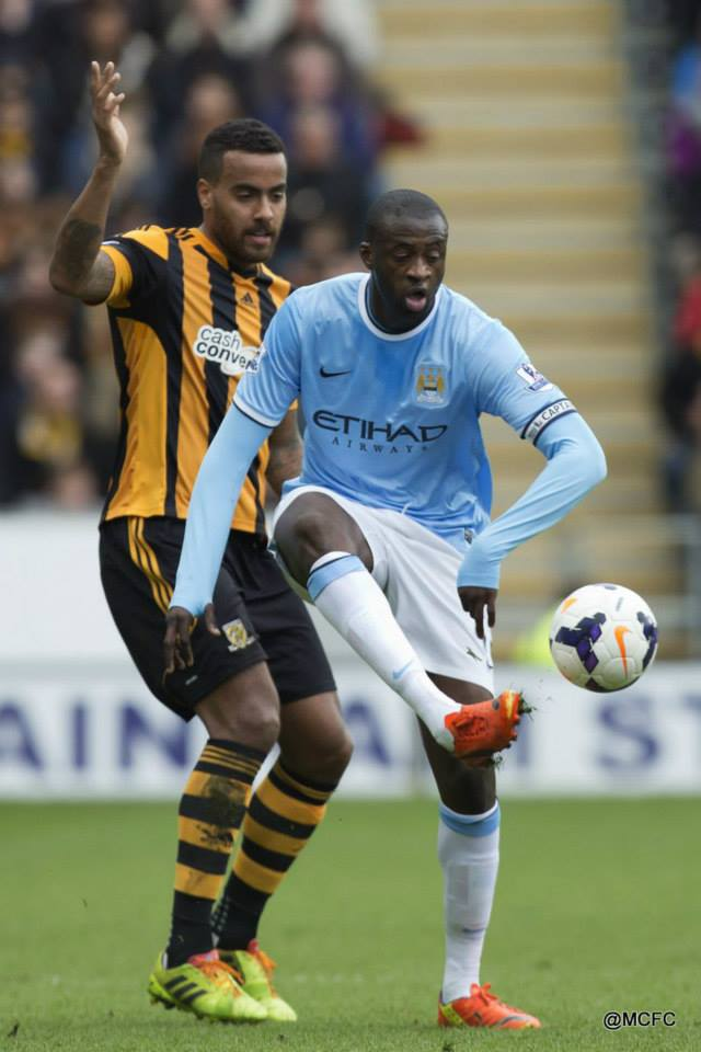 Yaya assistance - Toure was not at his best, but still set up Silva's goal.  Courtesy @MCFC