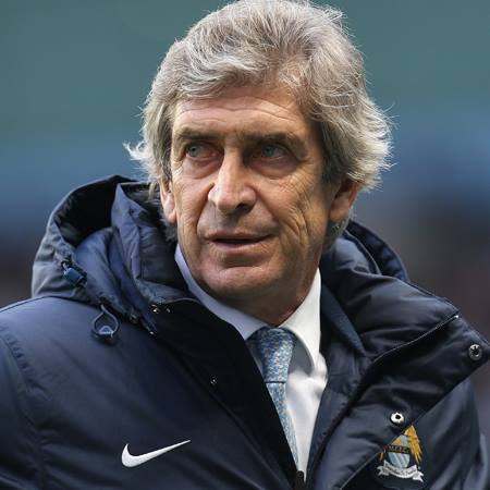 Crunch time - Pellegrini's team are eight wins away from Premier League utopia. Courtesy @MCFC