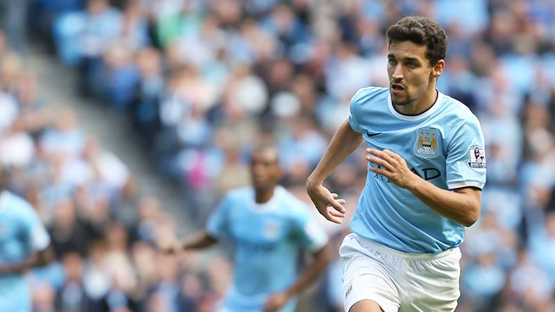 Speed merchant - Navas can hasten City's charge to the top of the Premier League. Courtesy @MCFC