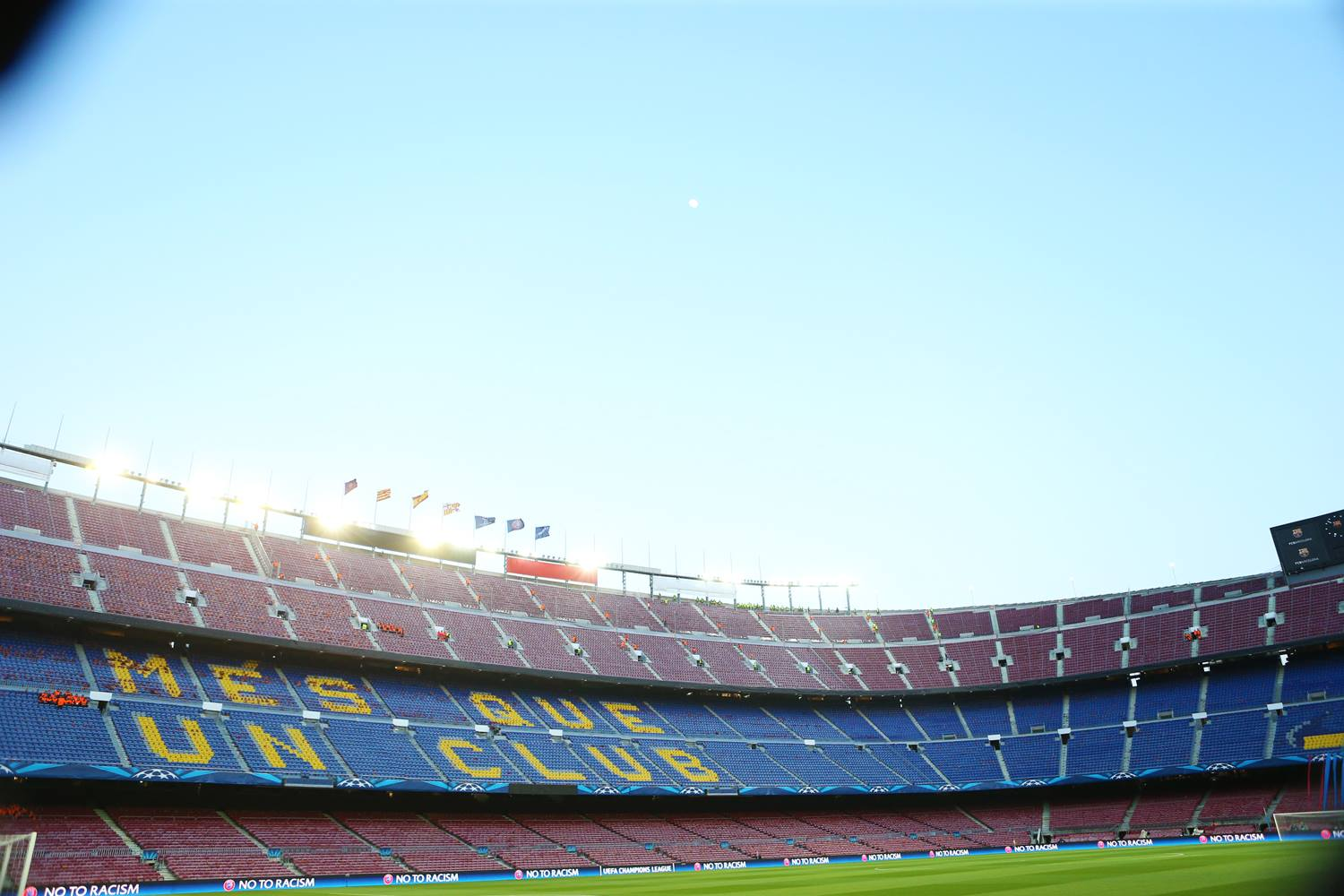 Nou way - FC Barcelona's home - but what goes on behind the scenes?  Courtesy @MCFC