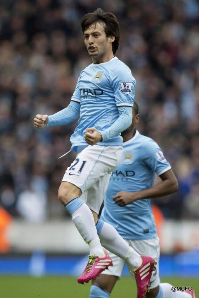 Simply the best - David Silva has to be a strong candidate for Footballer of the Year recognition. Courtesy @MCFC