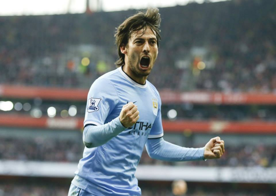 Missing - David Silva's potentially PL season ending injury is a massive blow to City. Courtesy @MCFC