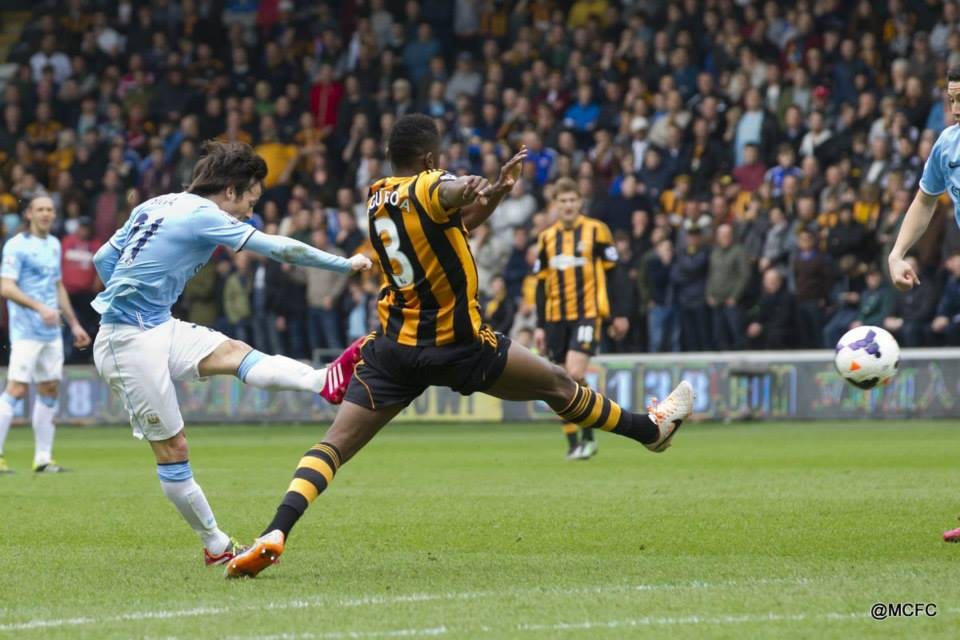 Silva strike - Merlin's magical goal set City on the road to victory. Courtesy @MCFC