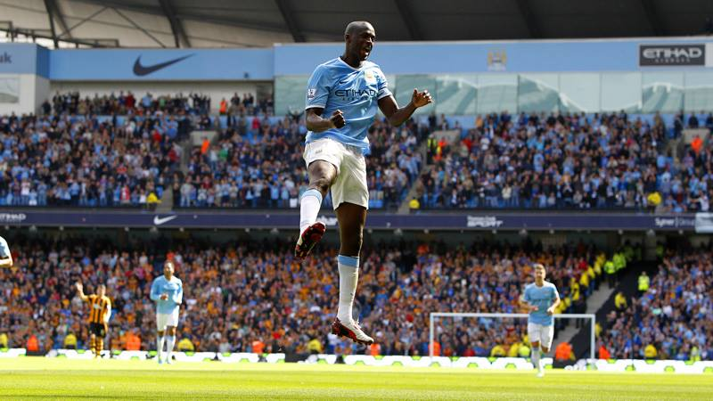Same again - Yaya Toure can be a match winner for City at Hull. Courtesy @MCFC