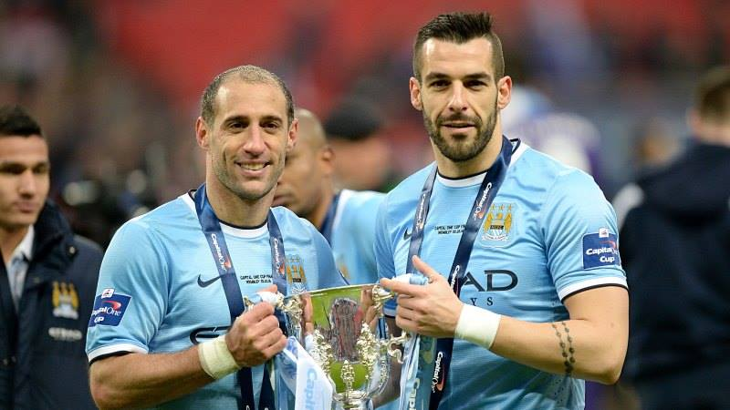 Double Take - Zaba and The Beast want to create history winning the League Cup & Premier League this season  Courtesy @MCFC