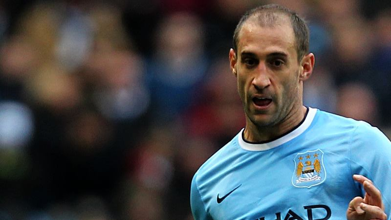 Wembley Warrior - last time out Zaba saw red and was sent off in the FA Cup Final  Courtesy @MCFC