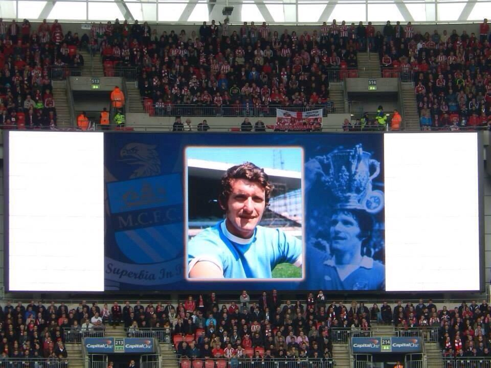 Wembley Big Screen - Mike Doyle's name was sung out loud and proud