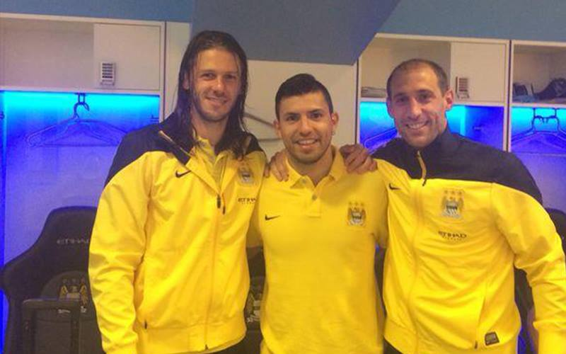 Uno, Dos, Tress - it's as easy as an Argentine 1,2,3. Courtesy @MCFC