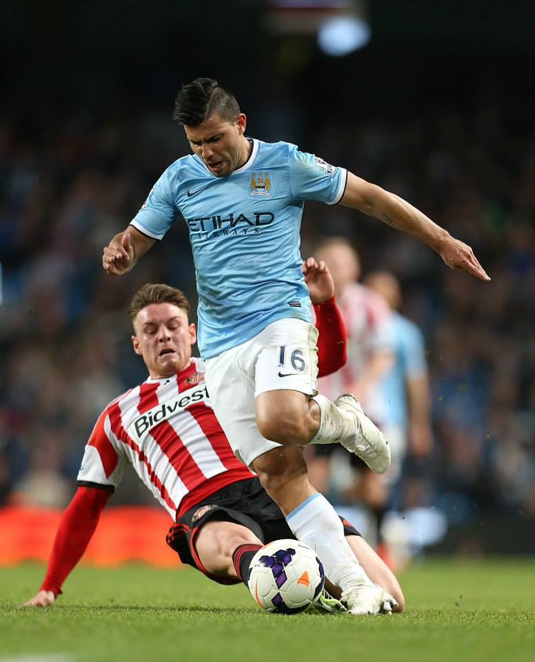 All square - City couldn't shake off a dogged Sunderland. Courtesy @MCFC