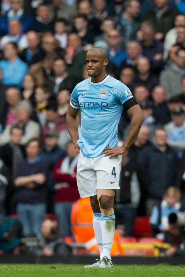 Take command - Kompany and his defensive colleagues need to tighten up the backline. Courtesy @MCFC