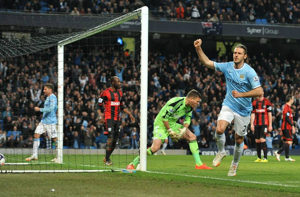 Star man - Demichelis scored his second goal for City. Courtesy @MCFC