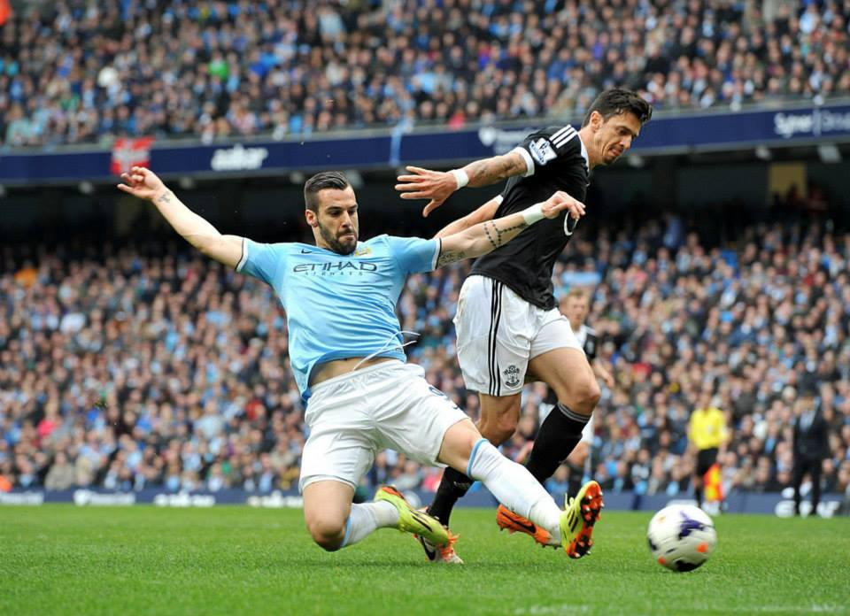 Beastly day - Negredo tried, but failed to end his 12 game goal drought. Courtesy @MCFC