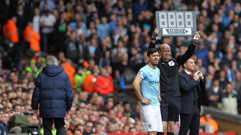 Sergio surge - Can Aguero fire the goals to win the title for City? Courtesy @MCFC