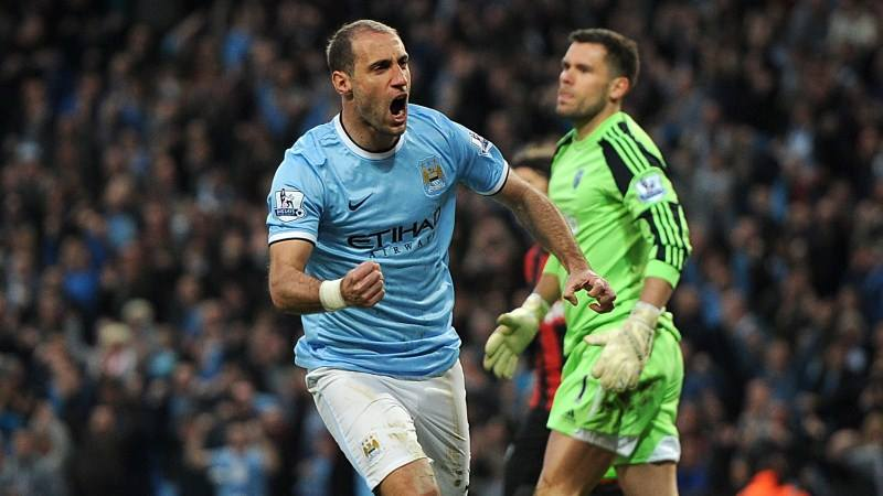 Driving force - Zaba knows what it takes to get City over the Premier League winning line. Courtesy @MCFC