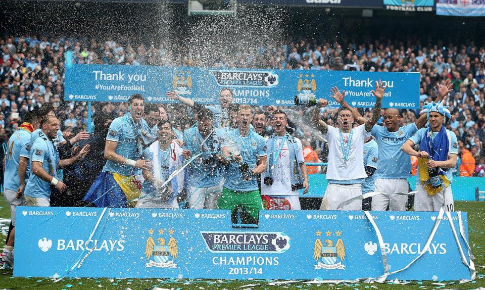 We Are The Champions -but UEFA don't like Manchester City! Courtesy @MCFC