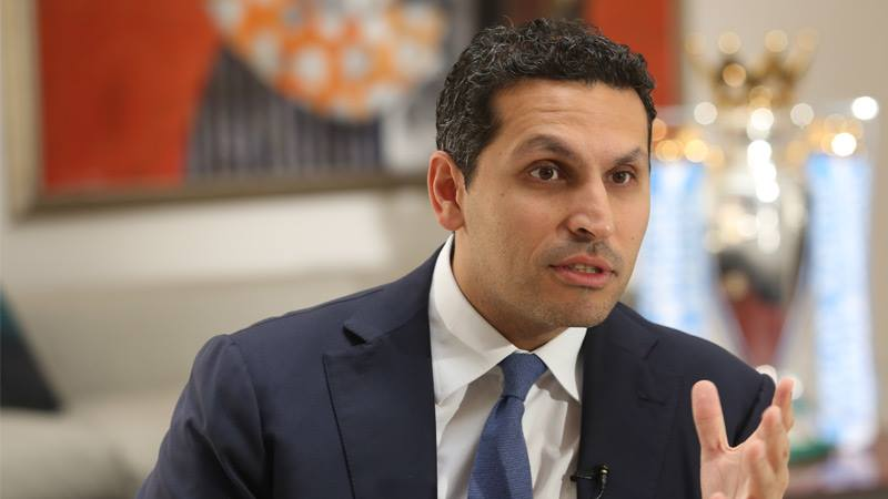 Looking after business - Manchester City Chairman Khaldoon Al Mubarak has promised 'high quality' signing this summer to make City stronger. Courtesy @MCFC