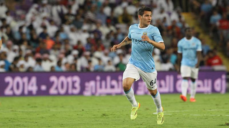 Homegrown - Marcos Lopes is one of an upcoming breed of new talent from City's 'Academy'. Courtesy @MCFC