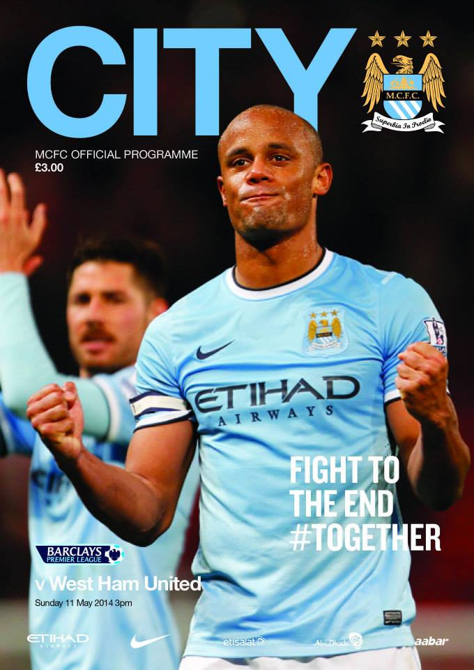 Fight to the End #Together - Kompany's message to the fans was clear. Courtesy @MCFC