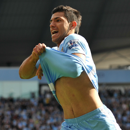 AGUERRRRRROOO - Can City land their 2nd title in three years? Courtesy @MCFC