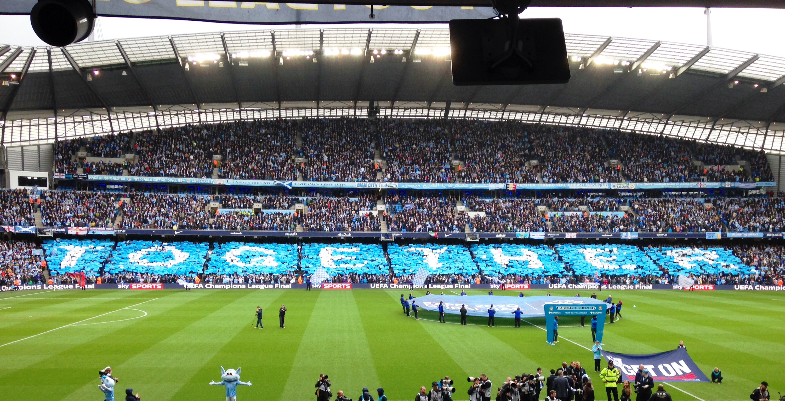 Let's get the party started - #TOGETHER at kick off.
