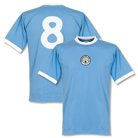 Winning selection - Philip selected the 1972 Retro shirt as his prize, complete with the iconic No 8.