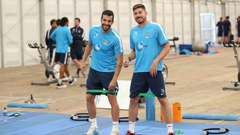 Neither, both or one? - Will Alvaro or Javi be casualties of a need for more home-grown players at City? Courtesy @MCFC