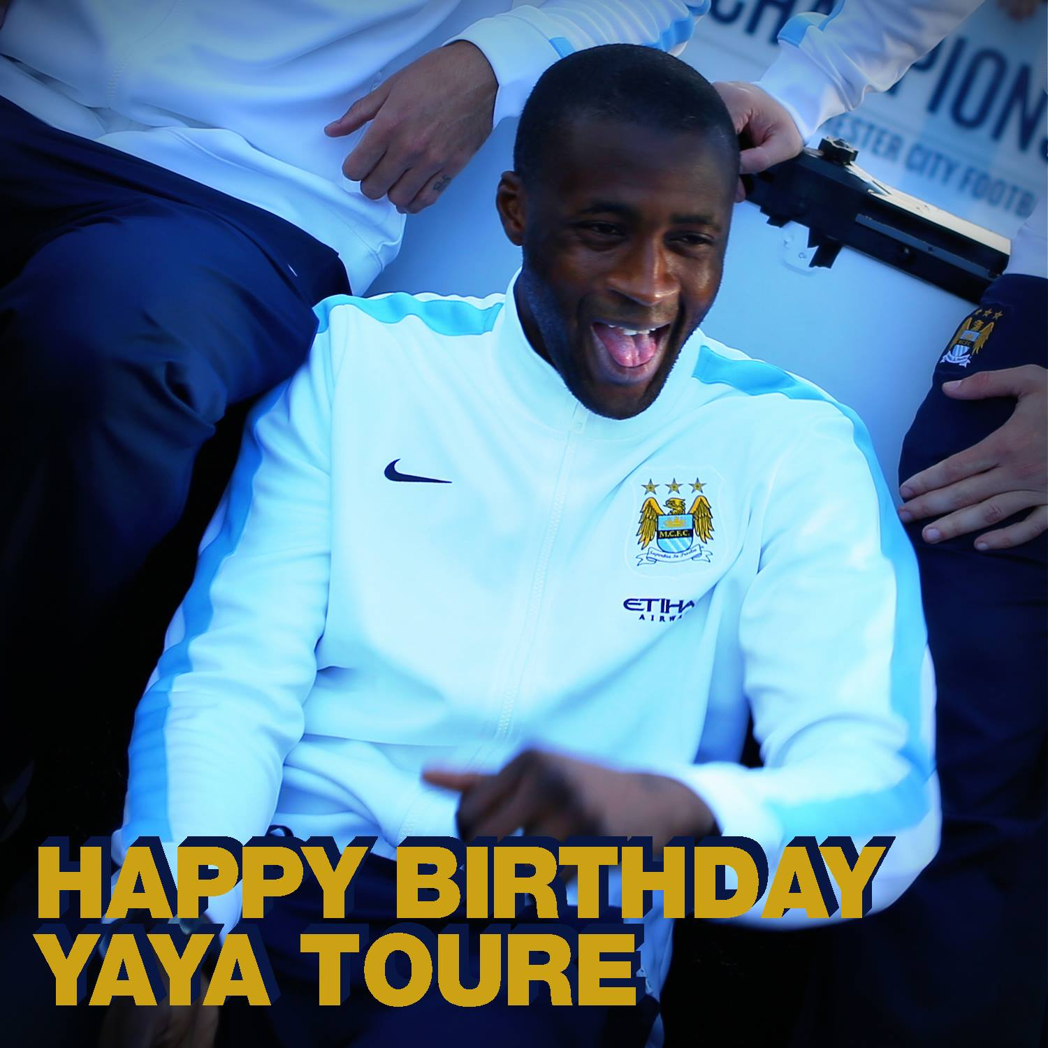Cakegate - Birthday wishes, handshakes & Bugatti Vayron supercars - Yaya has been making headlines for all the wrong reasons. Courtesy @MCFC