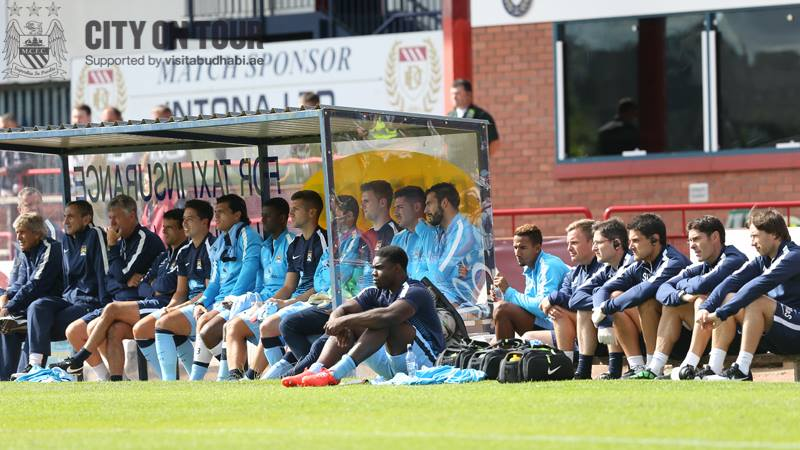 On the bench - but who stays and who goes before the transfer deadline? Courtesy @MCFC