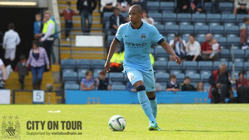 Defender of defenders - Fernando will present a formidable figure in front of City's backline at Wembley. COURTESY @MCFC
