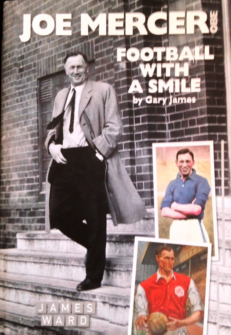 Wonderful book - Joe Mercer's biography is a must read for football fans, especially City and Arsenal supporters.